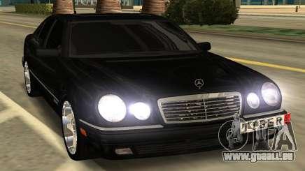 Mersedes Benz E420 für GTA San Andreas