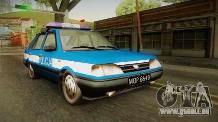 FSO Polonez Caro Policja pour GTA San Andreas