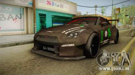 Nissan GT-R LB Walk Team Dice für GTA San Andreas