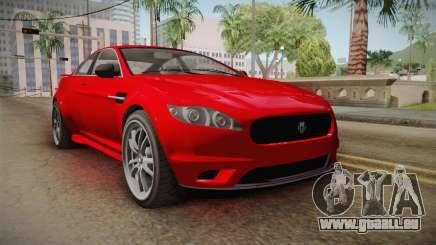 GTA 5 Ocelot Jackal 2-doors für GTA San Andreas