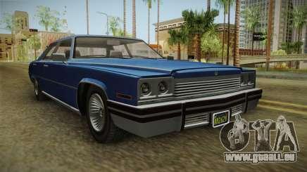 GTA 5 Albany Manana 4-doors IVF pour GTA San Andreas