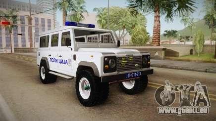 Land Rover Defender 110 Polizei für GTA San Andreas