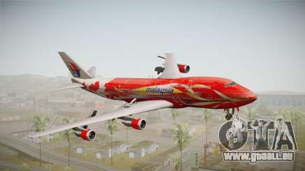 Boeing 747 Malaysia Airlines Hibiscus Livery pour GTA San Andreas