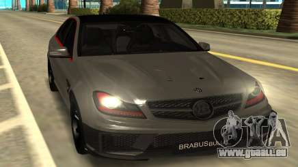 Brabus Bullit Coupe 800 pour GTA San Andreas