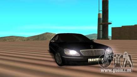 Mercedes s600 pour GTA San Andreas