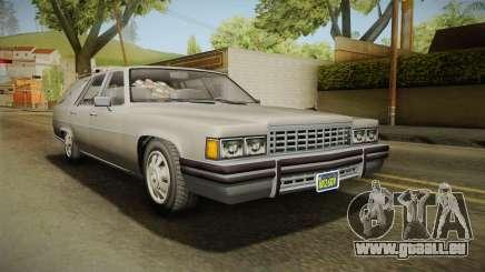 GTA 5 Albany Emperor Hearse pour GTA San Andreas