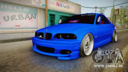 BMW 3 Series E46 Cabrio King pour GTA San Andreas