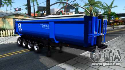 Les Remorques À Benne Basculante De Tonar pour GTA San Andreas