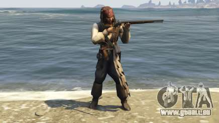 Captain Jack Sparrow 1.0 für GTA 5