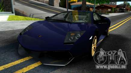 Lamorghini Murcielago LP640-4 SV 2010 pour GTA San Andreas