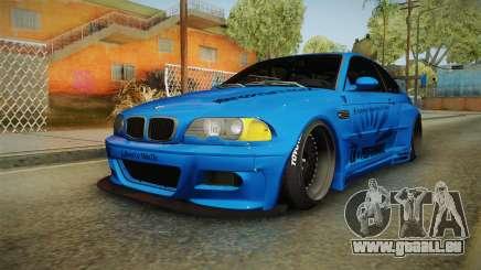 BMW M3 E46 Liberty Walk pour GTA San Andreas