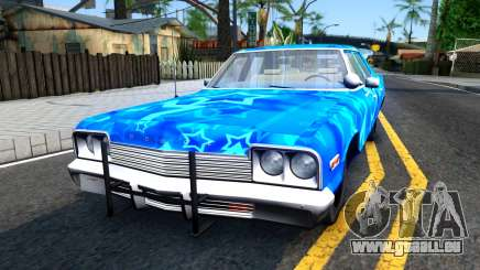 Dodge Monaco 1974 Blue Star pour GTA San Andreas