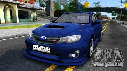Subaru Impreza WRX STI Sedan 2011 pour GTA San Andreas