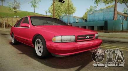 Chevrolet Impala SS 1996 pour GTA San Andreas