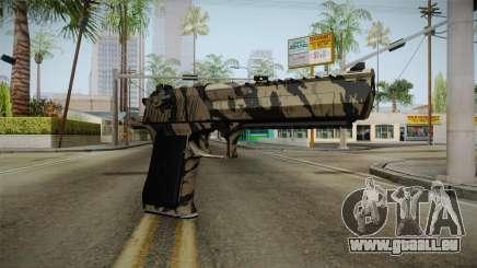 Desert Eagle Black Shark Camo für GTA San Andreas