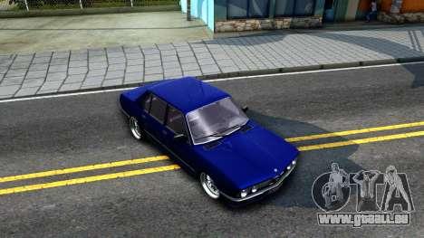 BMW E28 525e für GTA San Andreas rechten Ansicht