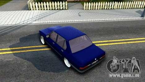 BMW E28 525e für GTA San Andreas Rückansicht