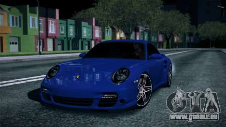 Porsche 911 Turbo 2007 für GTA San Andreas rechten Ansicht