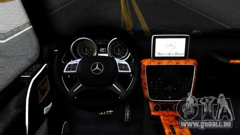 Mercedes-Benz G55 AMG pour GTA San Andreas vue intérieure