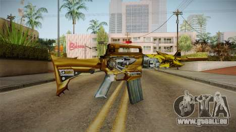 Cross Fire - M4A1-S Iron Beast Noble Gold pour GTA San Andreas