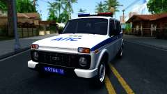 Lada 4x4 21310-59 Urban 2016 Russian Police