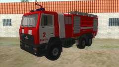 MAZ 5440 Feuer