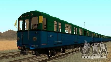 Metrostav Typ Еж3 für GTA San Andreas