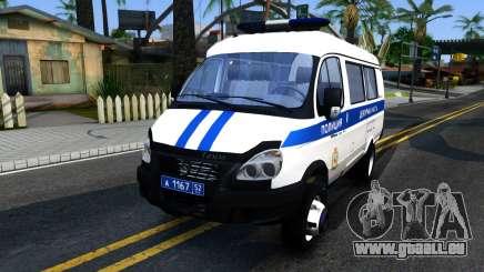 Gazelle 2705 La Police pour GTA San Andreas