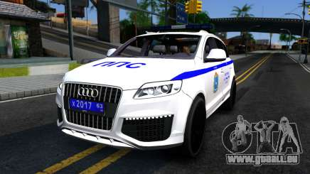 Audi Q7 Russian Police pour GTA San Andreas