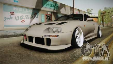 Toyota Supra Widebody pour GTA San Andreas