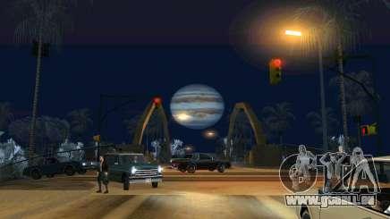 Jupiter mod für GTA San Andreas