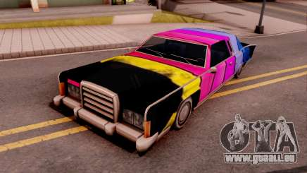 New Remington Paintjob v1 für GTA San Andreas