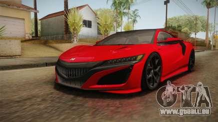 Honda NSX 2017 für GTA San Andreas