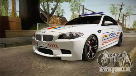 BMW M5 F10 Romanian Police pour GTA San Andreas