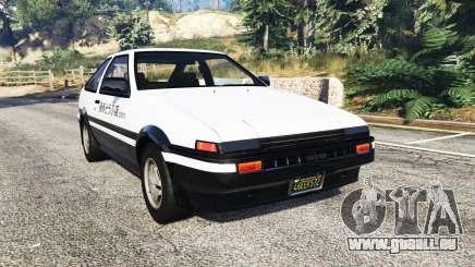 Toyota Sprinter Trueno GT-Apex (AE86) [replace] für GTA 5