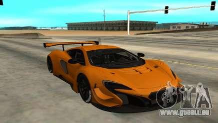 McLaren 650S GT3 für GTA San Andreas