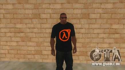 T-shirt avec le logo de la Demi-Vie de 2 pour GTA San Andreas