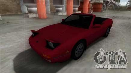 Nissan 240SX Cabrio für GTA San Andreas