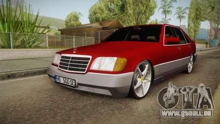 Mercedes-Benz W140 Projekt pour GTA San Andreas