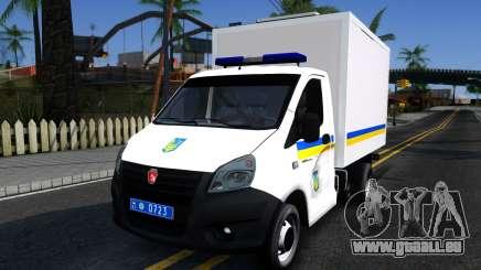 GAZelle NEBEN Van der Ukraine für GTA San Andreas