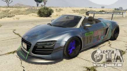 Audi Spyder V10 pour GTA 5