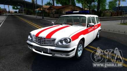 Der GAZ 31105 Wolga Kombi Krankenwagen für GTA San Andreas