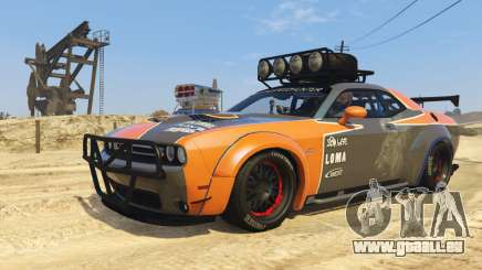 Dodge Challenger 2015 (Super Tuning) für GTA 5