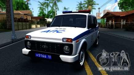 Lada 4x4 21310-59 Urban 2016 Russian Police pour GTA San Andreas