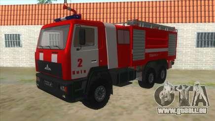 MAZ 5440 Feu pour GTA San Andreas