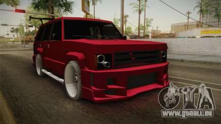 Lowered Huntley v1.0 pour GTA San Andreas