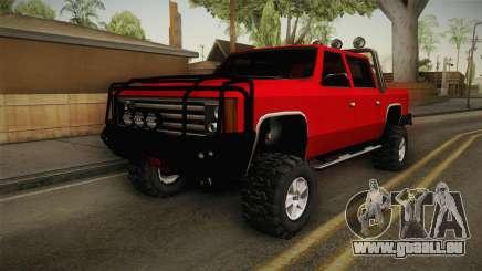 FBI Rancher 4x4 pour GTA San Andreas