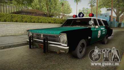 Plymouth Belvedere Station Wagon 1965 NYPD für GTA San Andreas