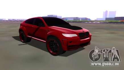 BMW X6 Lumma für GTA San Andreas