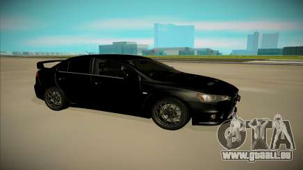 Mitsubishi Lancer X Evo für GTA San Andreas